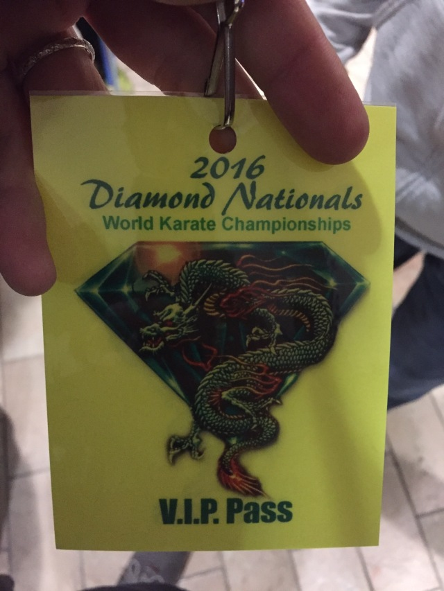 Diamond Nationals VIP