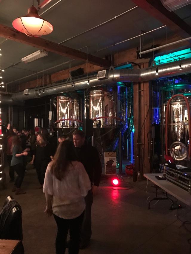 Brewery Dancing!