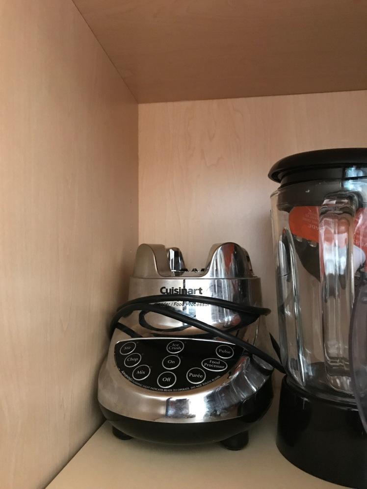 Cuisinart Blender in a Cupboard