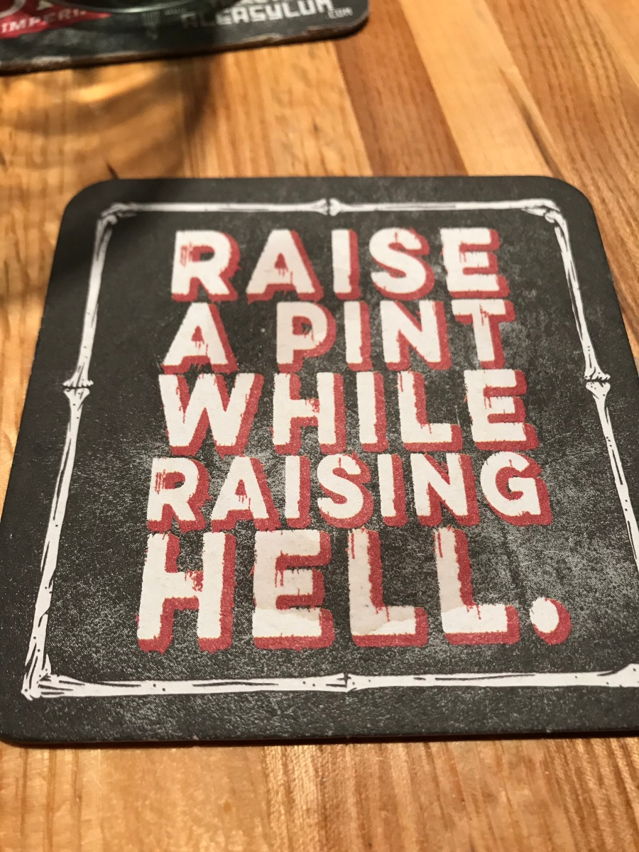 Beer Coaster at Ale Asylum, Madison, WI
